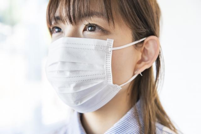 マスクを正しく付ける
